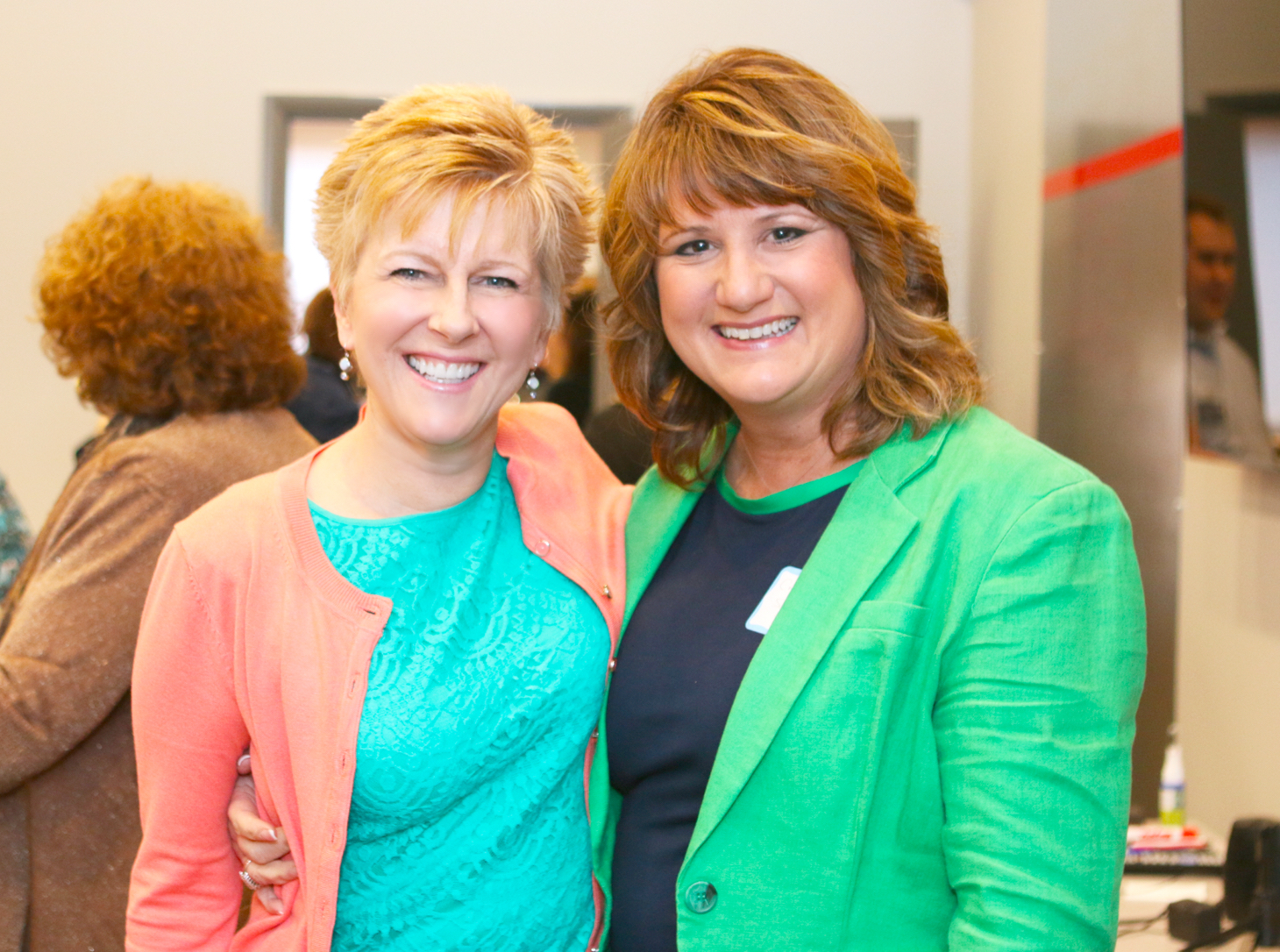 Mary Fran at Speaking Event
